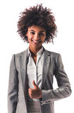 Afro American business woman Stock Photography