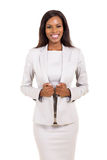 Afro american business woman Royalty Free Stock Photography