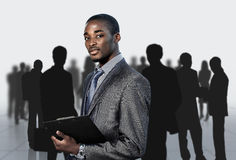 Afro-American businessma Royalty Free Stock Photos