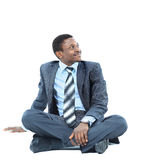 Afro-american businessman Royalty Free Stock Photos