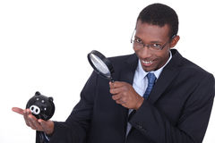 Afro-American businessman Stock Images