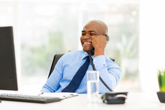 afro american businessman Royalty Free Stock Photos