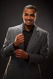 Afro-american businessman Royalty Free Stock Image