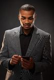 Afro-american businessman Royalty Free Stock Images