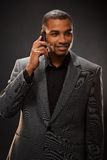 Afro-american businessman Royalty Free Stock Photo