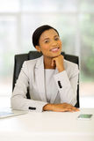 Afro american businesss woman Royalty Free Stock Image