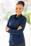 Afro american businesswoman Royalty Free Stock Images