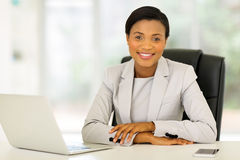 Afro american businesswoman Royalty Free Stock Photography