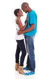 Afro american couple Royalty Free Stock Image