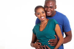 Afro american couple Royalty Free Stock Photography