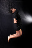 Afro american dancer Stock Image