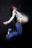 Afro-american dancer Stock Image