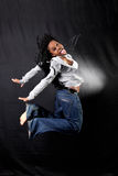 Afro-american dancer Royalty Free Stock Photography