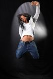 Afro-american dancer Royalty Free Stock Images