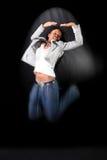 Afro-american dancer Stock Photos