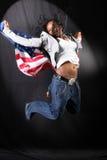 afro american dancer στοκ εικόνες