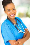 Afro american doctor Royalty Free Stock Images