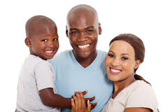 Afro american family Royalty Free Stock Image