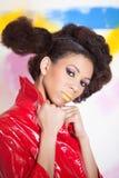 Afro american girl Royalty Free Stock Photos