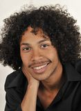 Afro American Male Royalty Free Stock Photography
