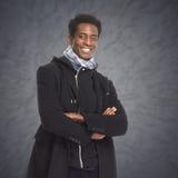 Afro american man. Stock Photos