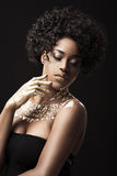 Afro-American model Royalty Free Stock Photography