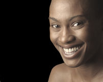 Afro American Woman Stock Photography