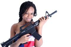 afro american woman στοκ φωτογραφίες με δικαίωμα ελεύθερης χρήσης