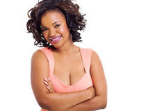 Afro american woman Stock Images