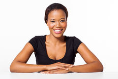 Afro american woman Royalty Free Stock Photo