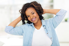 Afro american woman Royalty Free Stock Photography