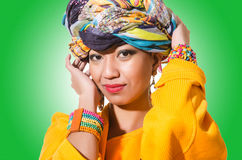 Afro-american woman  Stock Photography
