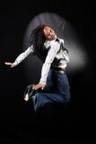 Afro-Amerikaanse danser stock afbeeldingen
