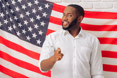 Afro- amerikansk man Royaltyfri Foto