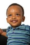 afro amerikanskt pojkebarn Arkivbilder