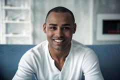Afro amerykański mężczyzna zdjęcie stock