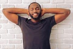 Afro amerykański mężczyzna Obraz Royalty Free