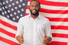 Afro amerykański mężczyzna Obrazy Royalty Free