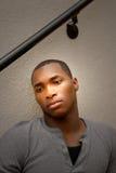afro - amerykański przystojny mężczyzna Obraz Stock