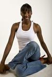 afro - amerykański wzorzec miły Zdjęcia Stock