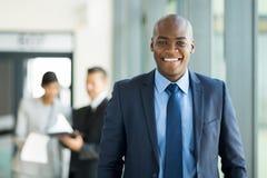 afro - amerykański biznesmen Obrazy Royalty Free