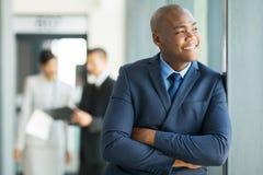 afro - amerykański biznesmen Obrazy Stock