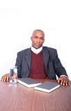 afro - amerykański biznesmen Zdjęcia Royalty Free