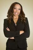 afro - amerykański bizneswoman Zdjęcie Stock