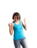 afro - amerykański kobieta sukcesu Zdjęcie Stock