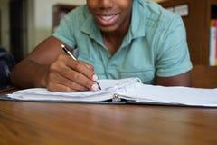 afro - amerykański student Fotografia Stock
