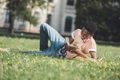 afro - amerykański student Obraz Stock