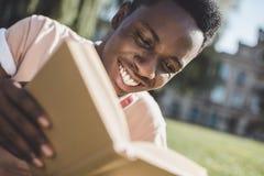 afro - amerykański student Zdjęcia Royalty Free