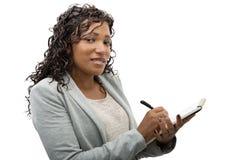 afro - amerykanów bizneswomanu portret Fotografia Stock