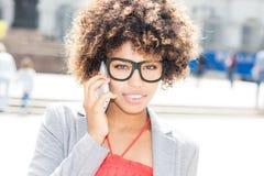 afro - amerykanów bizneswomanu young Zdjęcia Stock